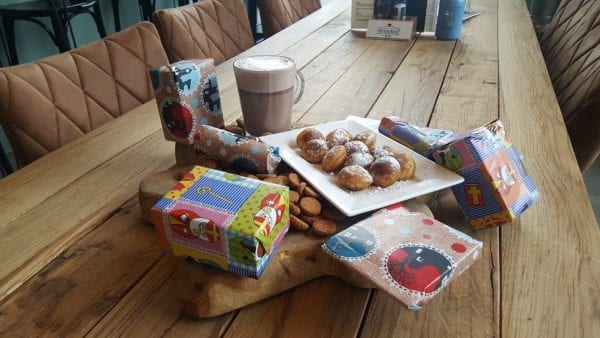 Sinterklaas intocht actie