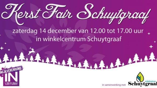 Kerstfair Schuytgraaf AFGELAST VANWEGE HET SLECHTE WEER