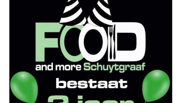 Food and More Schuytgraaf bestaat 2 jaar!
